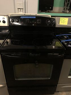 GE Electric Stove, in perfect condition with 4 months warranty Thumbnail