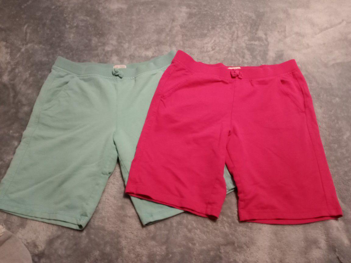 Girls Shorts Xl 14