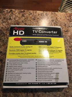Access HD Digital to Análogo TV Converter Whit Universal Remote Control Thumbnail