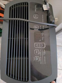 LG PuriCare 2019 Energy Star 50-Pint Dehumidifier in Black Thumbnail
