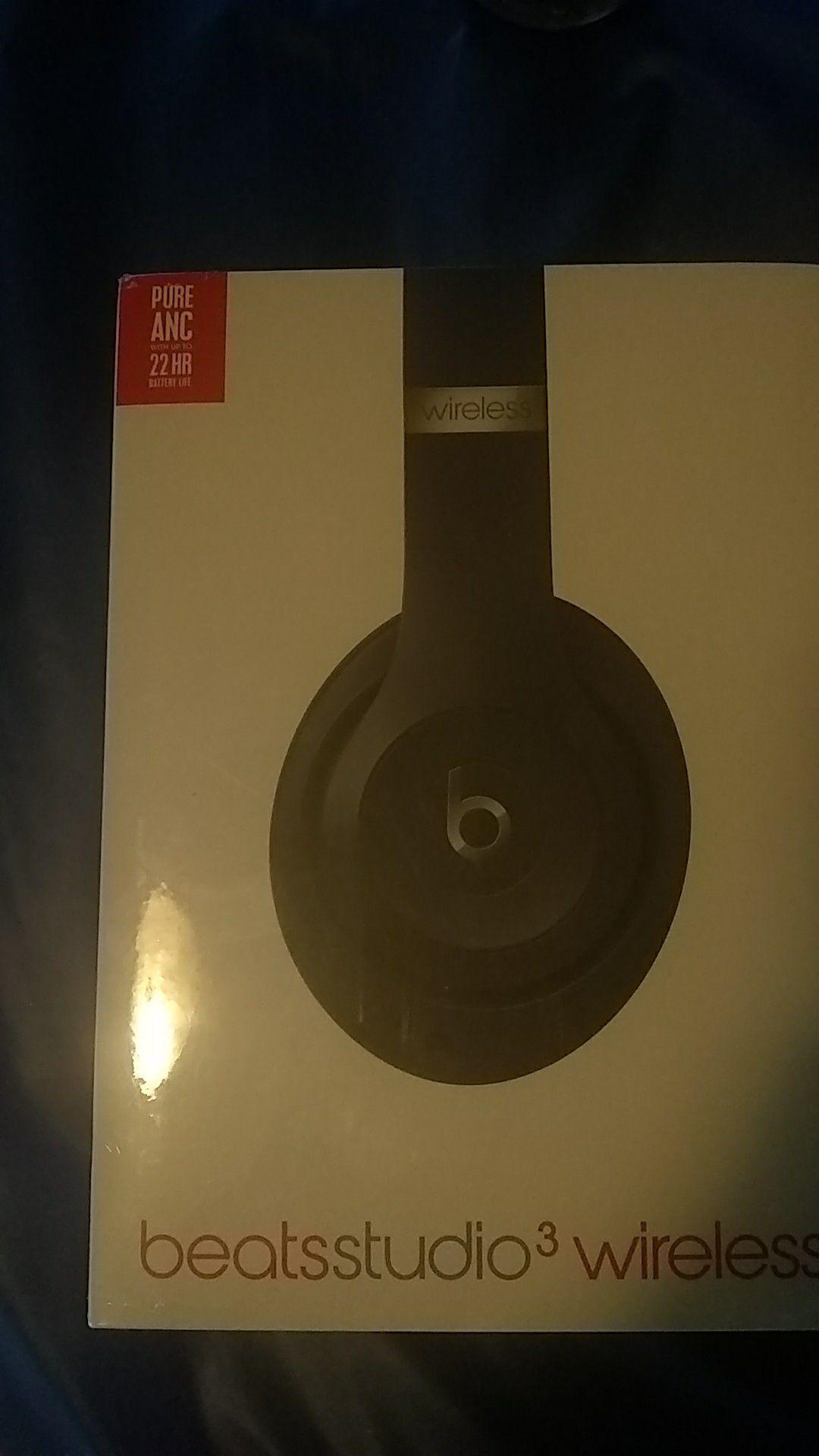 BeatsStudio3 wireless