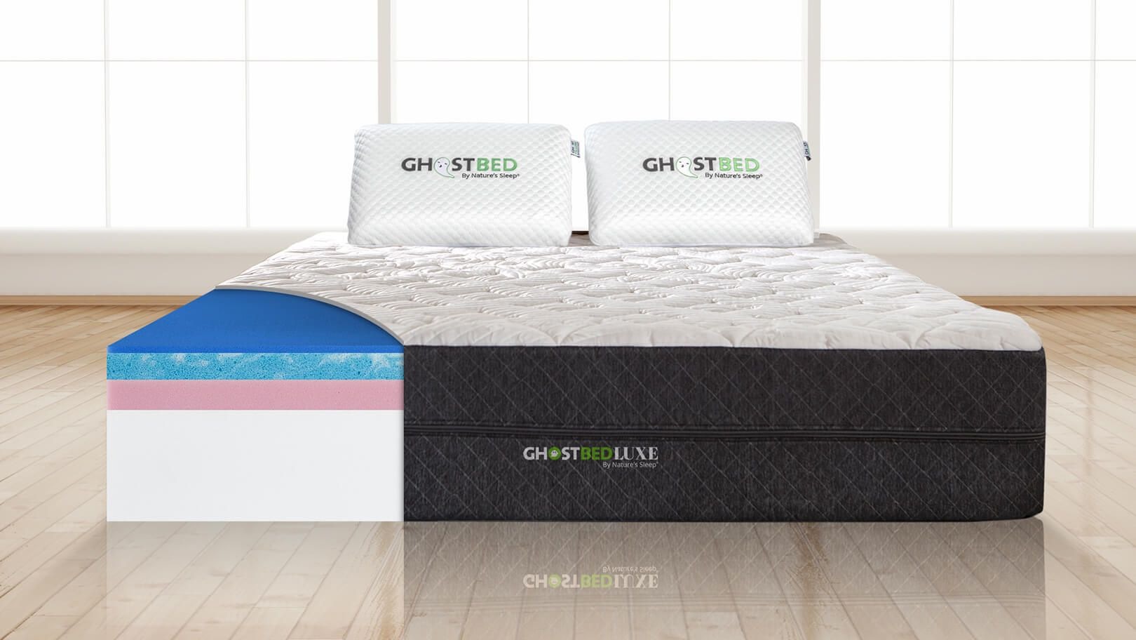 GhostBed Luxe Cal-King Mattress