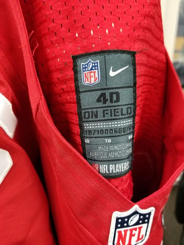 cheaper 0cfcb 5c82f Vernon Davis - Size 40 49ers Jersey Super Bowl 47 patch for Sale in South  San Francisco, CA - OfferUp