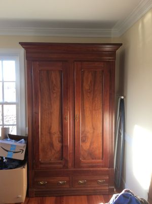 Antique Walnut Armoire for Sale in Montpelier, VA