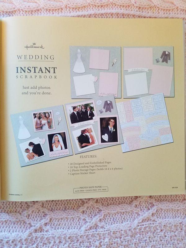 Hallmark Wedding Instant Scrapbook New For Sale In Baltimore Md