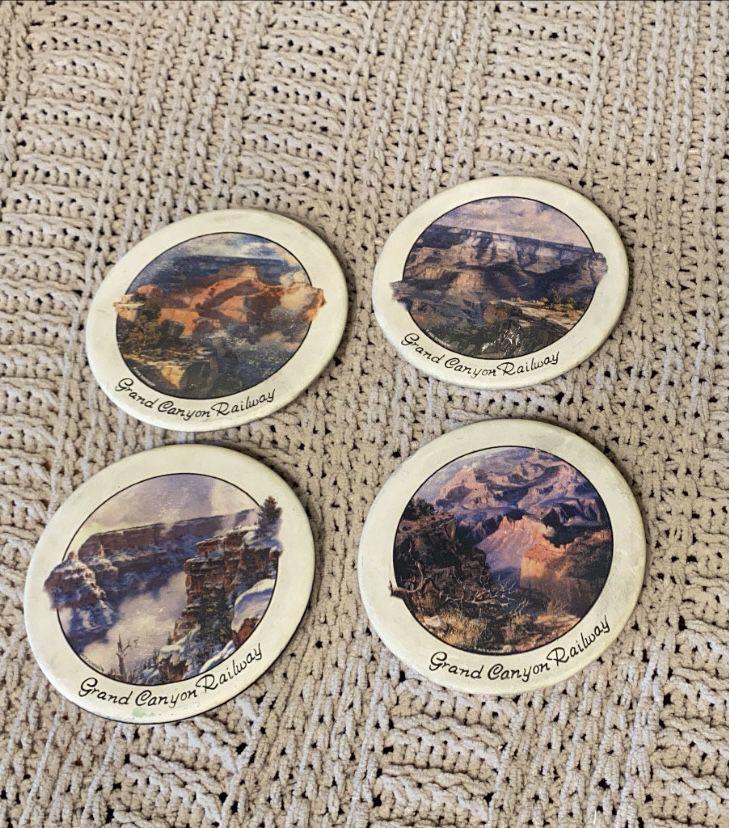 1970 Vintage Grand Canyon Coasters
