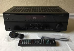 Yamaha 5.1 Audio Video 4K Receiver - AVR - HDMI - Excellent Condition for Sale in Washington, DC