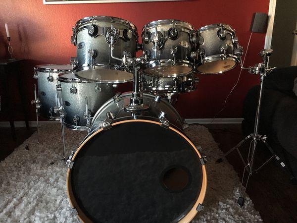 PDP X7 7 Piece Drum Set By Dw
