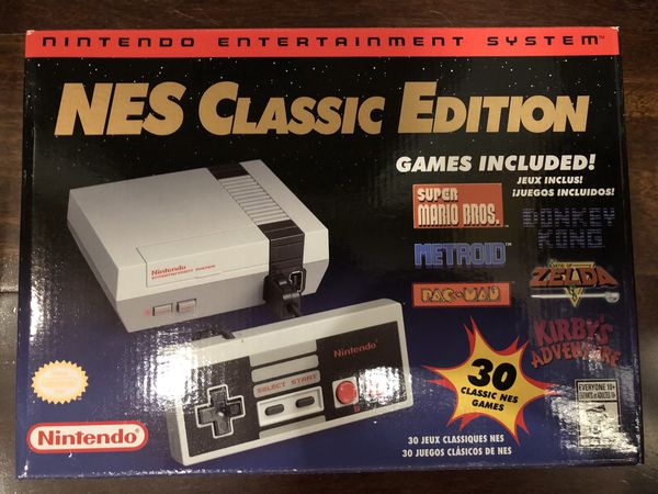 Nintendo Classic Mini Nes Brand New For Sale In San Carlos Ca