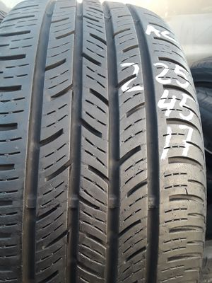 225/45-17 #2 tires for Sale in Alexandria, VA