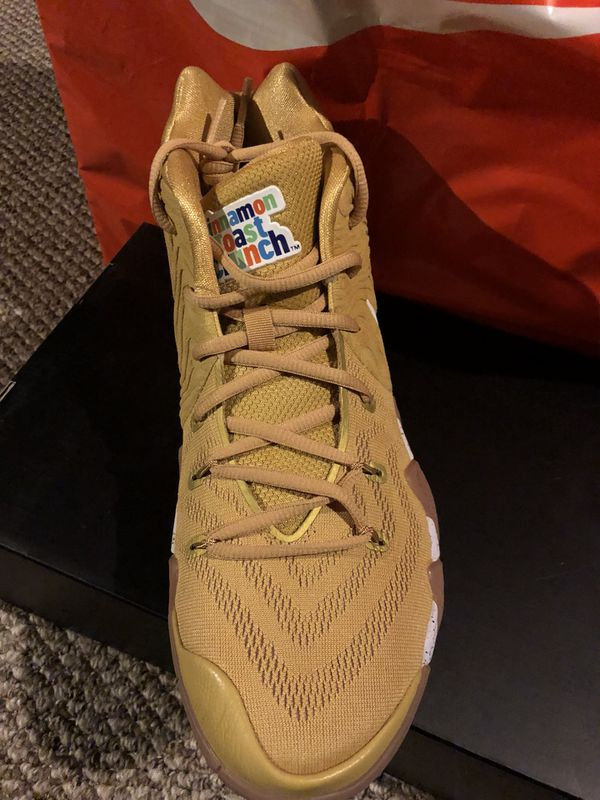 b2d3ce76817e Kyrie Irving 4 Cinnamon Toast Crunch Size 11 for Sale in Romeoville ...