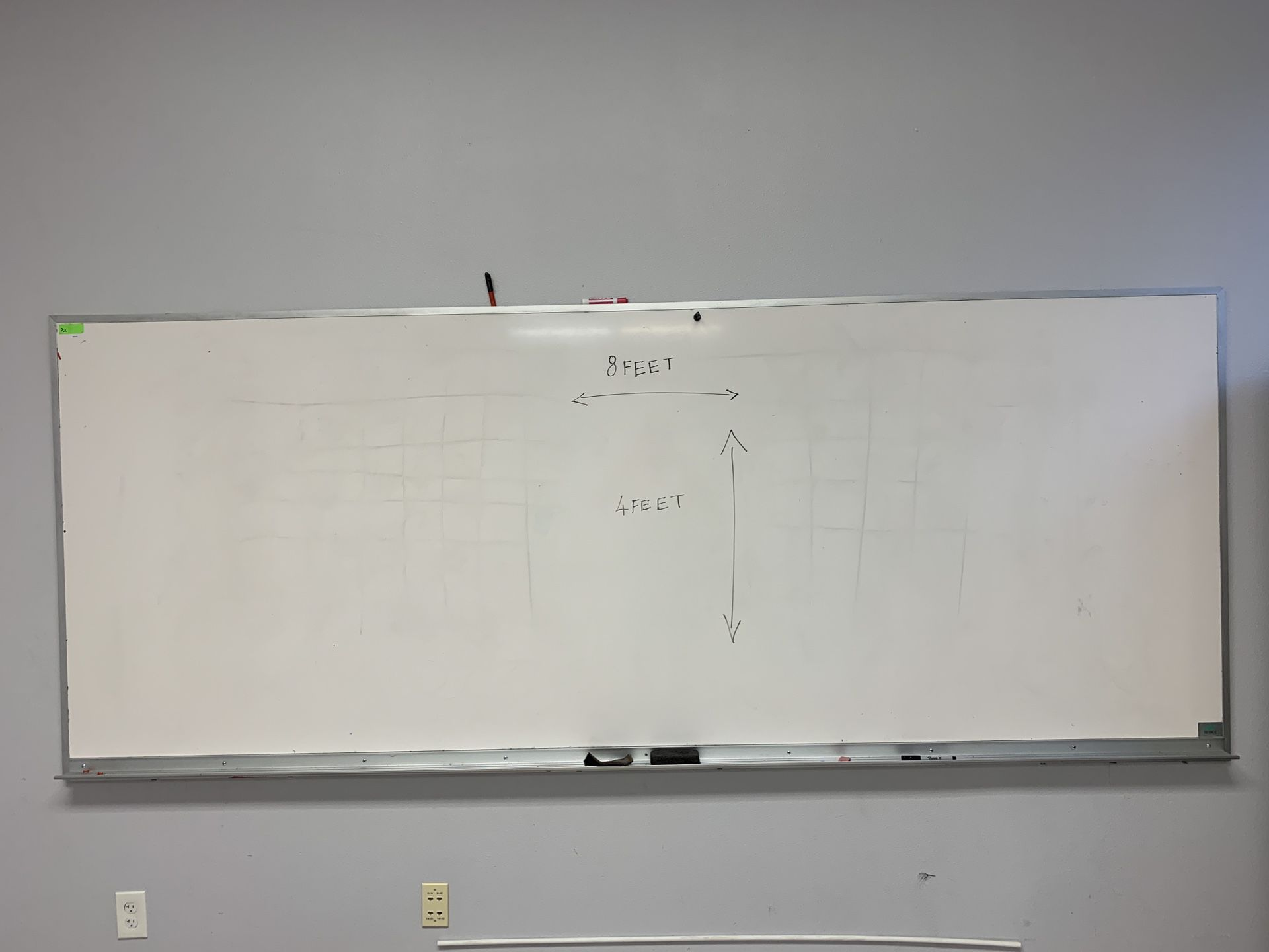 Huge 8' * 4' White board - excellent condition- 2 available $90 OBO