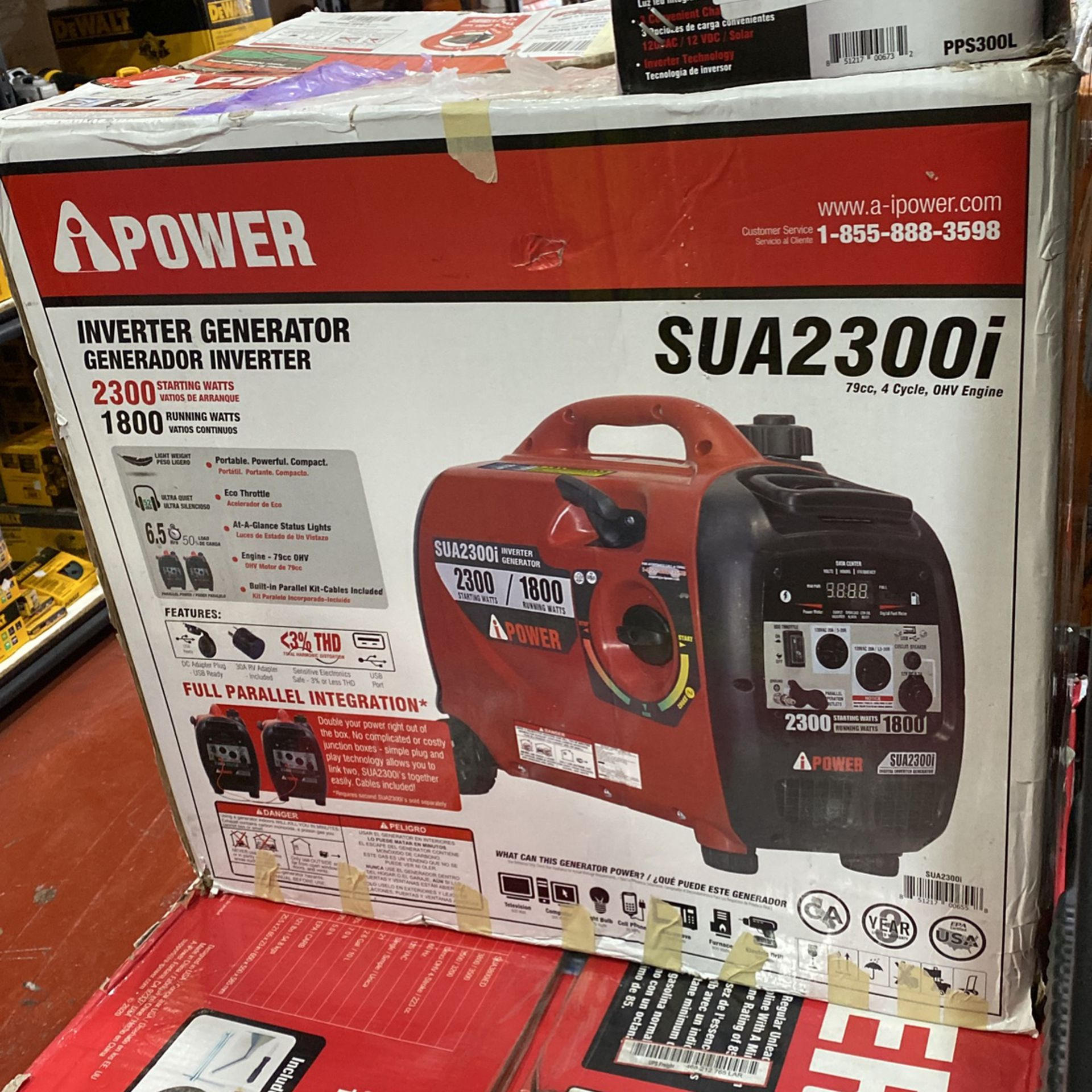 Brand New Ipower 2300 watts Inverter Generator Ultra Quite Only Asking $430