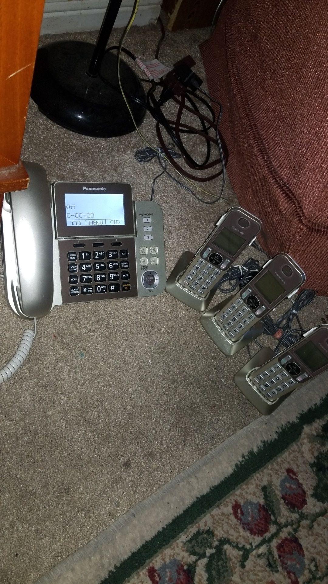 Panasonic, phone system - cordless