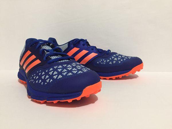 2061c86a5e1f Adidas Men s Zone DOX Field Hockey Shoes AQ6520 Blue Orange Size 10. New  without box.