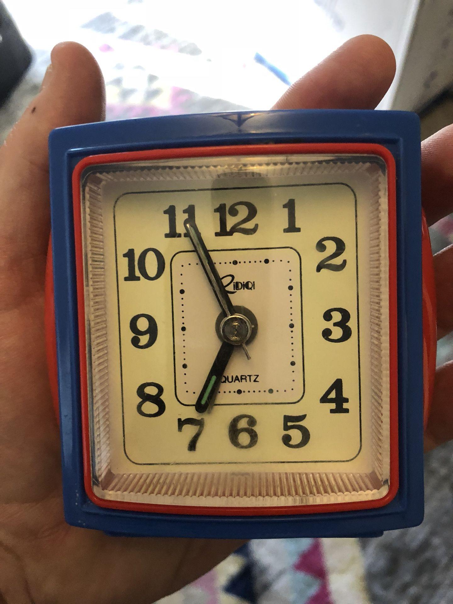 Cool, 80's Quartz Alarm Clock