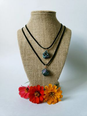 Genuine Purple Stone Necklace for Sale in Centreville, VA