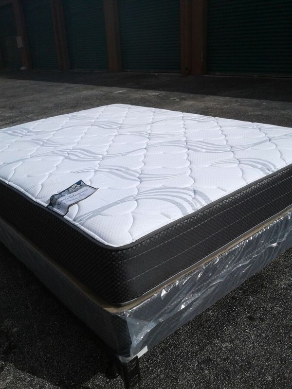 New Queen Size Mattress And Box Spring Free Delivery Furniture In