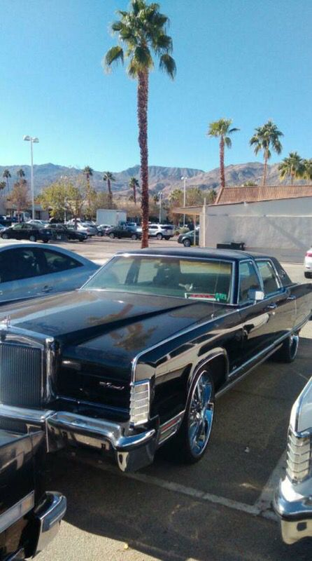 1977 Lincoln Towncar With 22 S For Sale In Newport Beach Ca Offerup