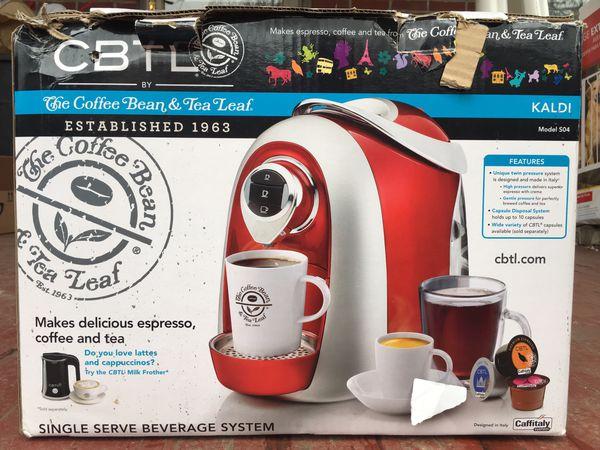 CBTL Single Serve Beverage System Kaldi 504 for Sale in Columbus, OH -  OfferUp