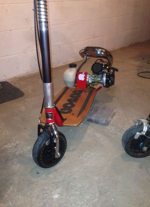 Used, GOPED VERY, VERY FAST.... FRESH ZENOAH G320RC W/ CLUTCH, ADA FORKS w/ V- BRAKES.... Flow Systems Exhaust ....JUST OVER 4 hp for sale  Wichita, KS