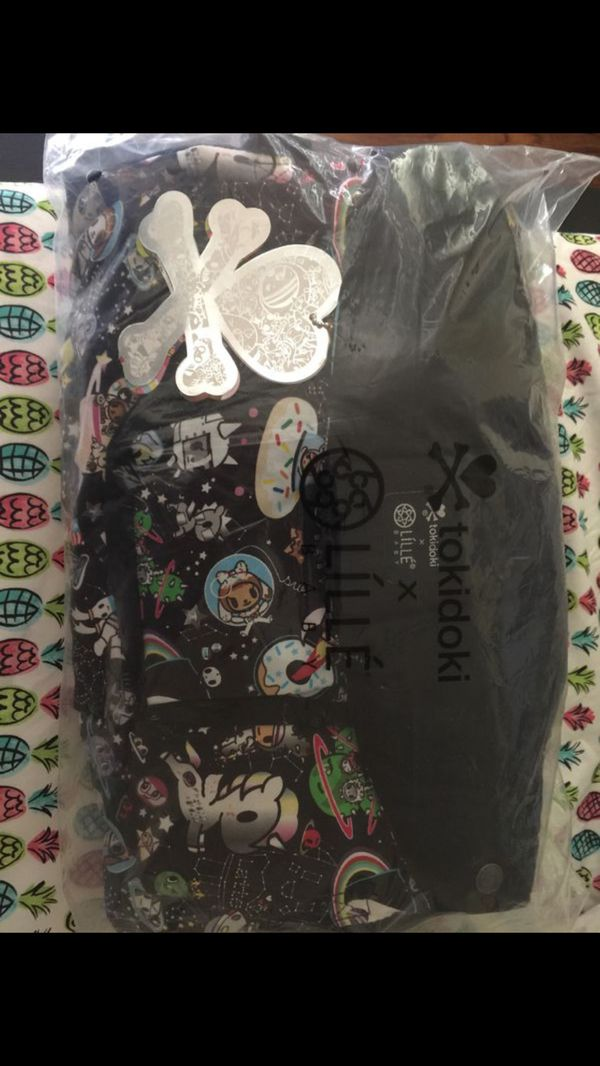 8084ee22fdd LILLEBABY COMPLETE – ORIGINAL – TOKIDOKI SPACE PLACE BLACK (100%COTTON) Baby  Carrier