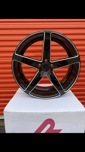Photo 20 inch⚡️5 lugs ⚡️MosT CarS⚡️2 years warranty⚡️4 new wheels