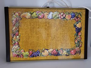 Awesome colorful vintage warming tray for Sale in Orlando, FL
