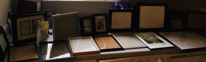 18 Picture Frames Various Sizes $30.00 for entire set for Sale in Herndon, VA