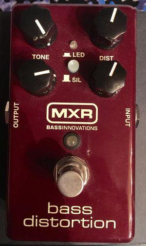 MXR M-85 Bass distortion pedal for Sale in Henrico, VA