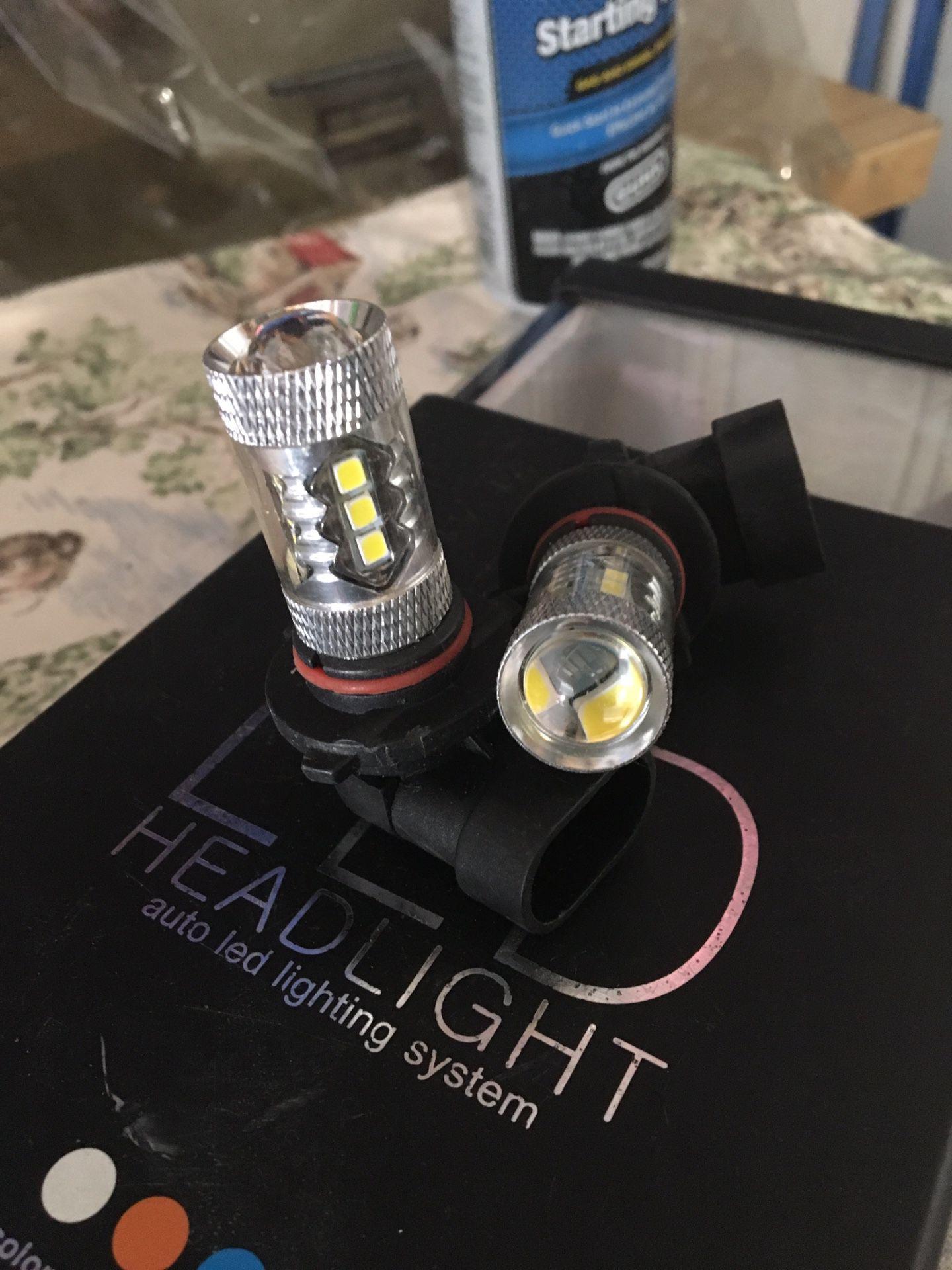 Fog lights (new) never used
