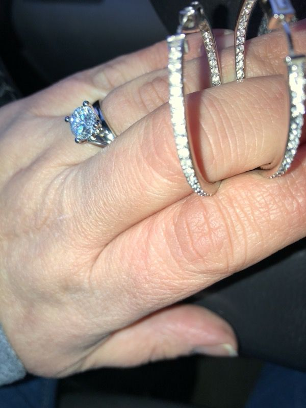 Sterling silver with real diamonds. for Sale in Methuen, MA - OfferUp