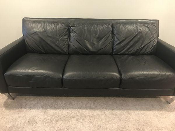 Leather sofa (Furniture) in Tampa, FL - OfferUp