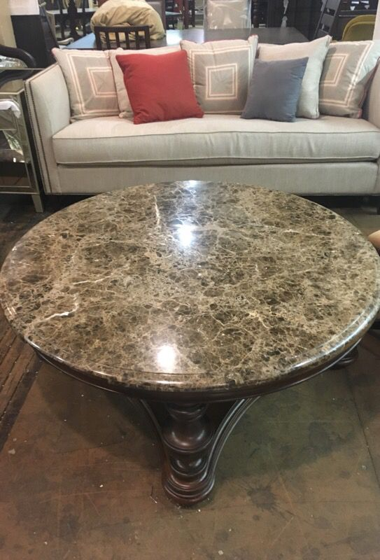 Thomasville Furniture Granite Top Coffee Table Hills Of Tuscany Collection For In High Point Nc Offerup