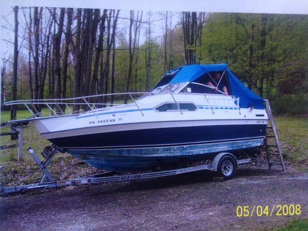 86 sunrunner boat