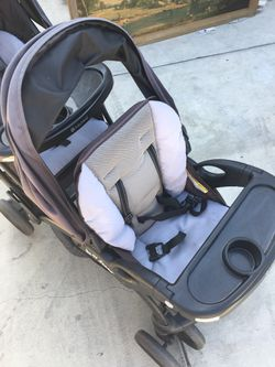 Double baby stroller Thumbnail
