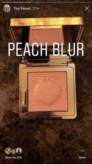 Peach blur too faced for Sale in Detroit, MI