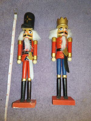 Pair of nutcrackers for Sale in Duluth, GA
