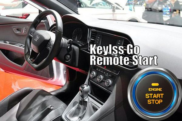 Remote Start Push Start Alarm Passive Keyless Entry Systems for Sale