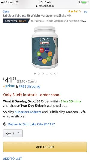 Zena weight management Shake x3 for Sale in Salt Lake City, UT