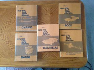 Photo 1975-1976 Ford Full Lineup Shop Manuals