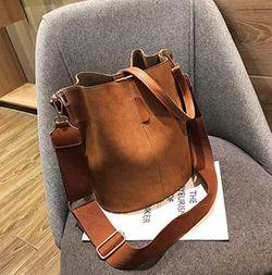 NEW Zoci Bucket Bag - Brown Thumbnail