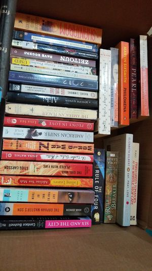 28 Paperback Fiction Books, Most w/Popular Titles for Sale in Laveen Village, AZ