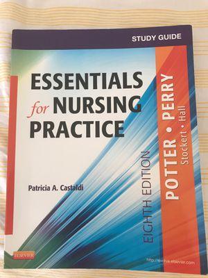Essentials for nursing practice study guide 8ed for Sale in Alexandria, VA