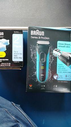 BRAUN series 3 proskin+2pack clean deals Thumbnail