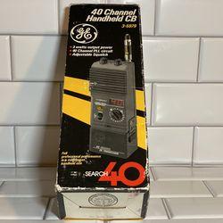40 channel handheld CB radio GE Thumbnail