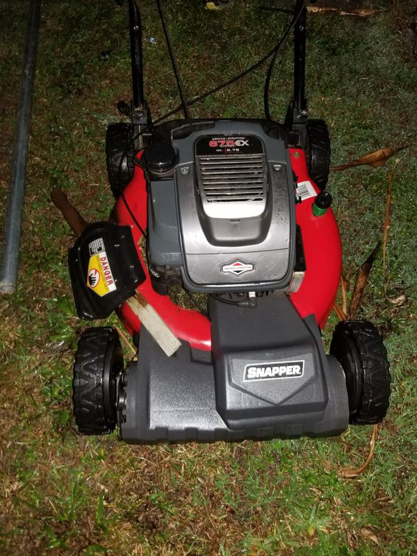 Snapper Self Propelled Lawn Mower For Sale In Port St