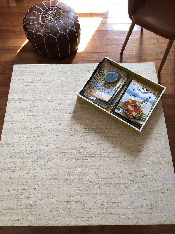 Macys East Park Marble Coffee Table For Sale In Brooklyn NY OfferUp - East park coffee table