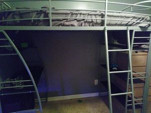 Twin loft bed for Sale in Elyria, OH