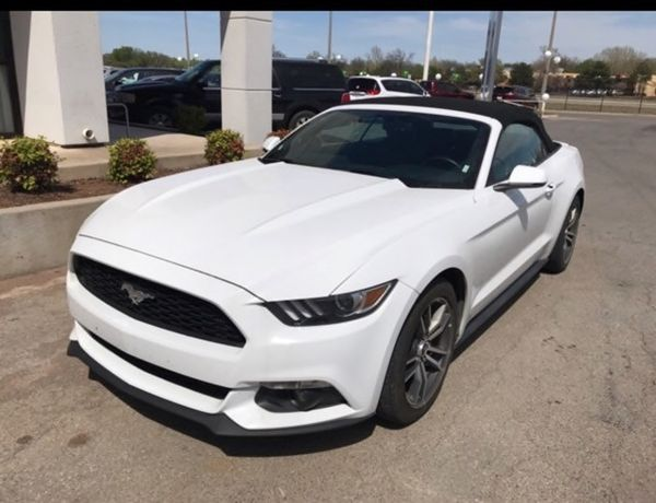 2017 Ford Mustang Ecoboost Premium Convertible Cars